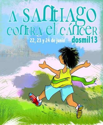 A Santiago contra el cancer   www.mediamaratonleon.com