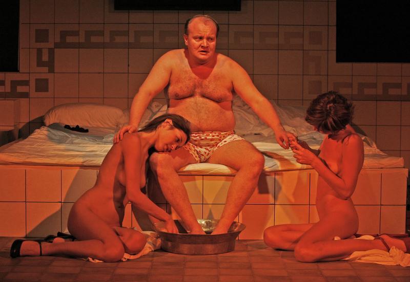 Реальные сцены секса русских во время застолья иногда