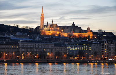 Budapest's sunset