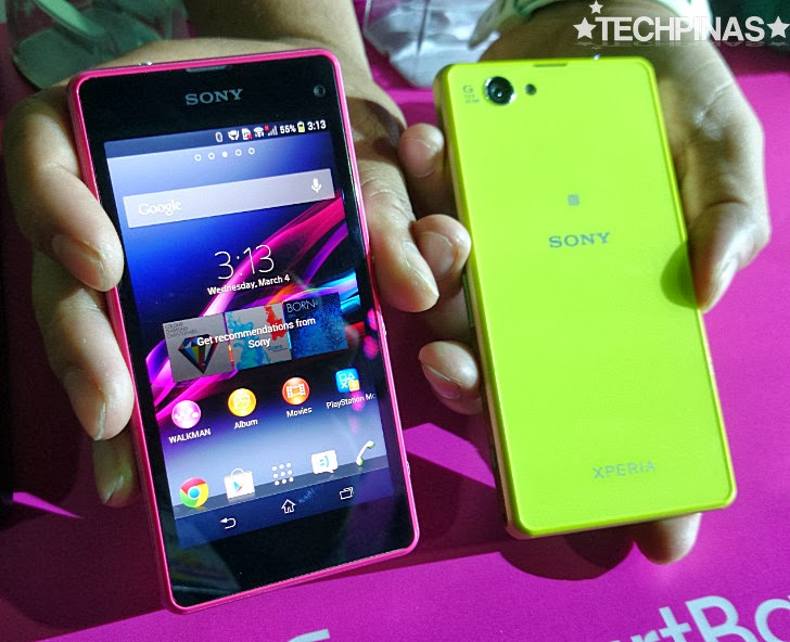 Sony Xperia Z1 Compact Philippines, Sony Xperia Z1 Compact, 2014 Sony Xperia Smartphones, Sony Xperia Philippines