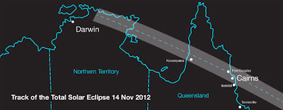Total Solar Eclipse 2012 Begins In Australia