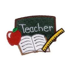 This says teacher.