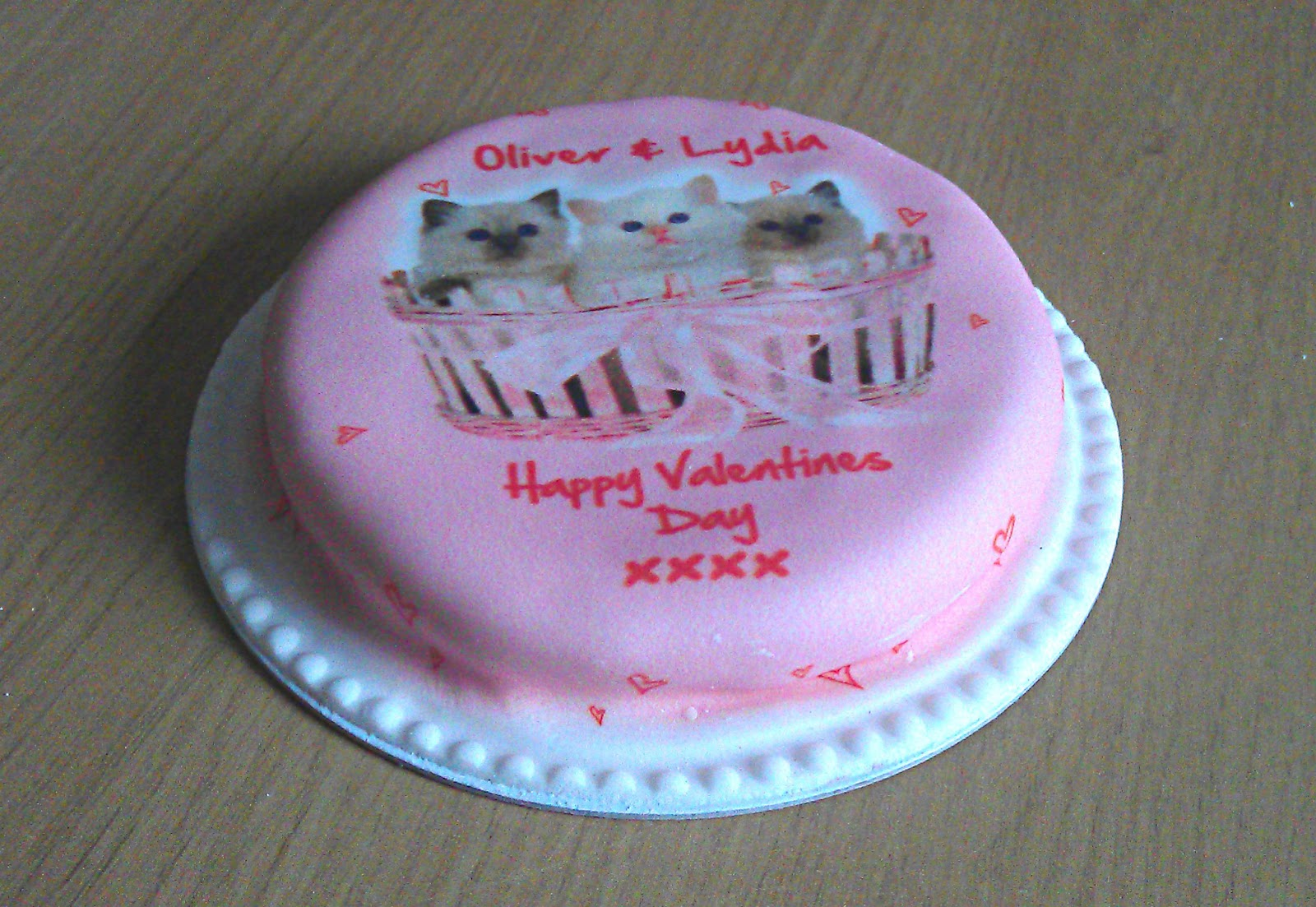 Baker Days personalised cakes