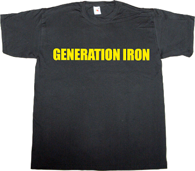 bodybuilding Arnold Schwarzenegger movie ronnie Coleman t-shirt ephemeral-t-shirts