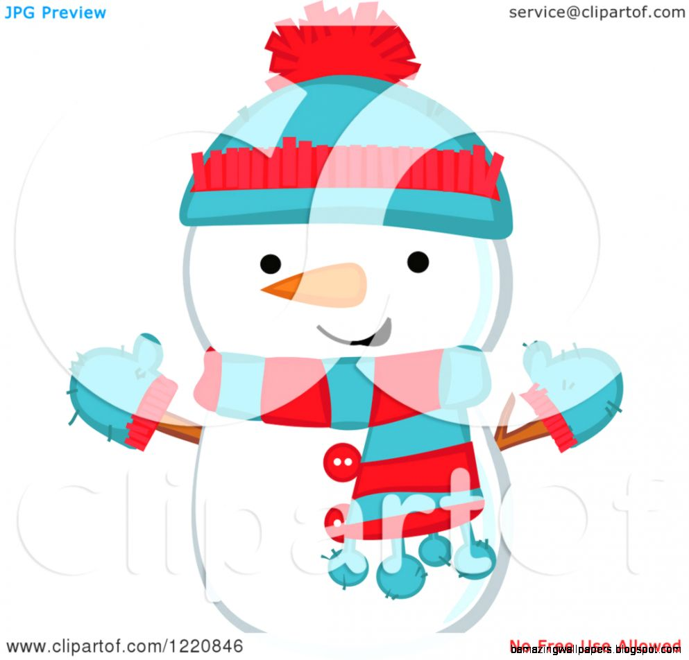 Cute Snowman Clipart   Clipart Kid