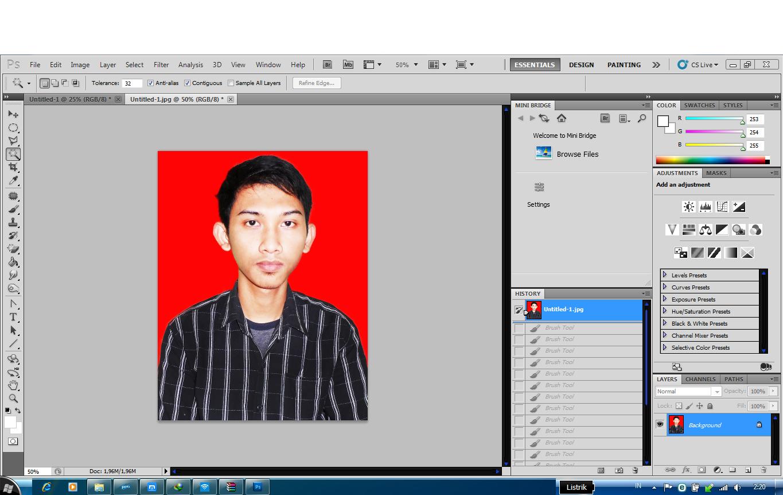 Cara Membuat Efek Kaca Pecah Manggunakan Photoshop CS5