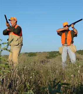 Two Texan hunters