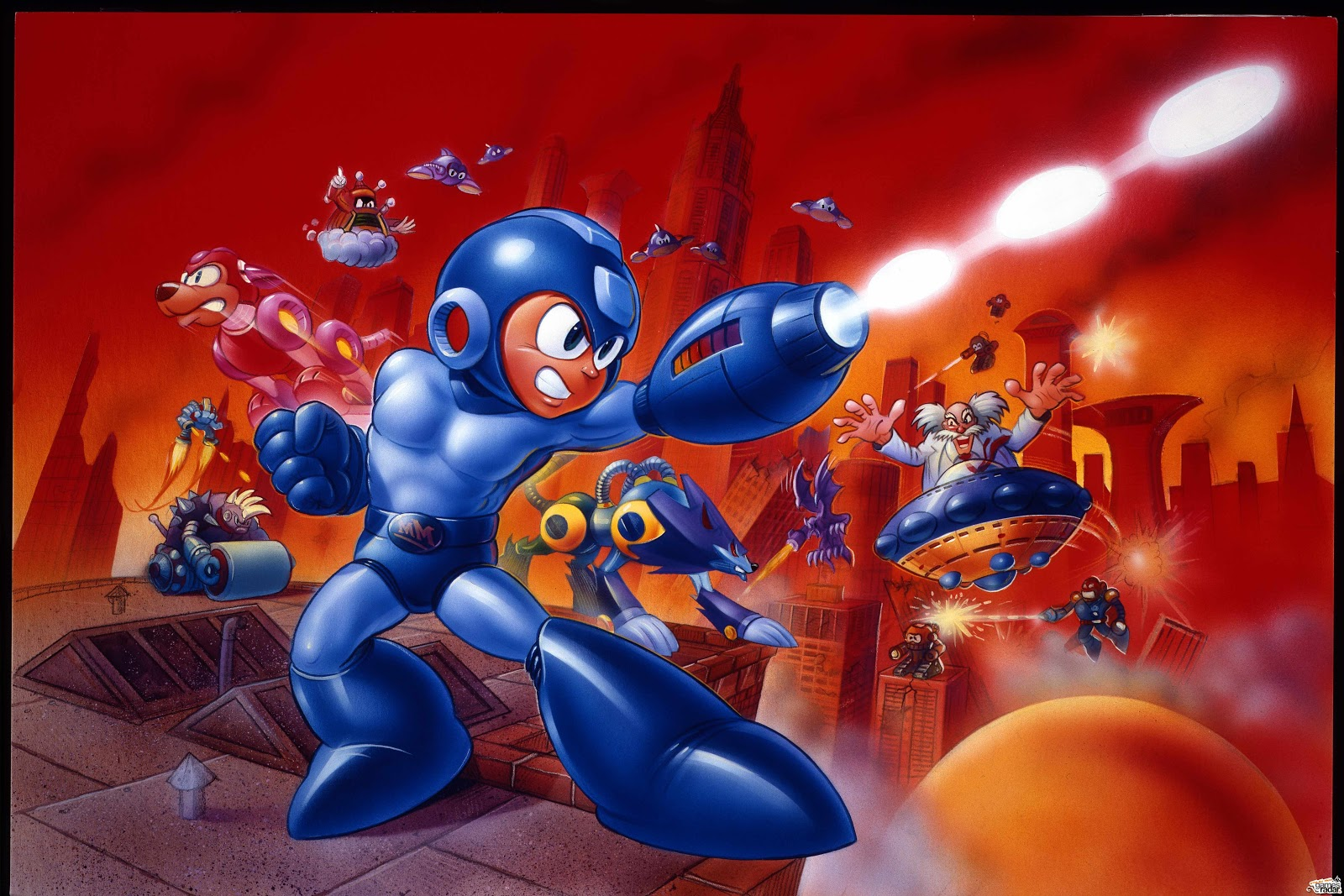 Megaman HD & Widescreen Wallpaper 0.24401762699205