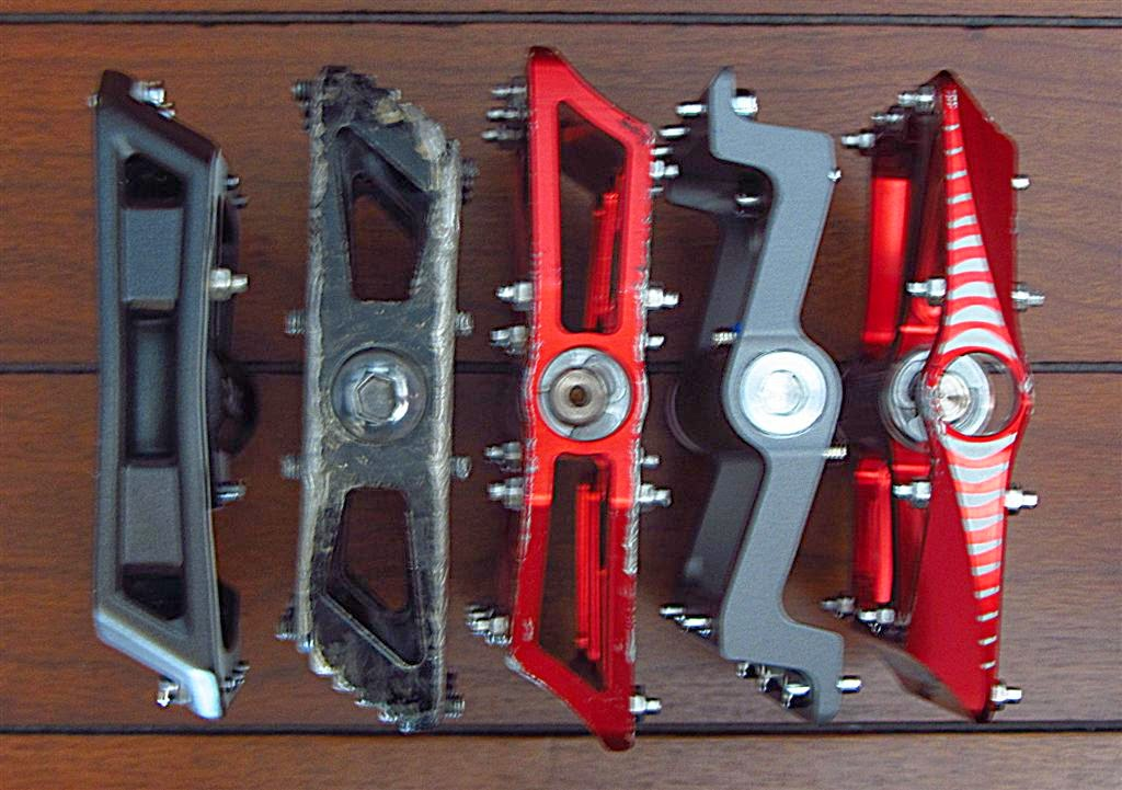 endless velo platform pedals is a stiff cycling