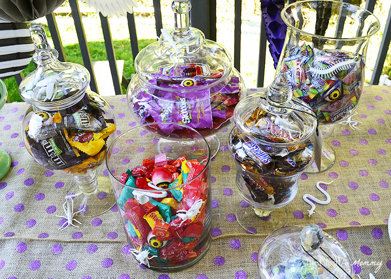 BOO It Forward Party candy vessels
