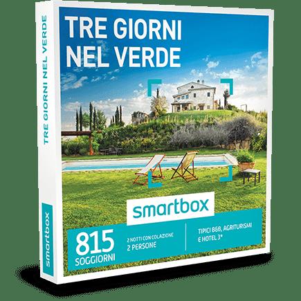 SMARTBOX Cofanetto Regalo Tre Giorni nel Verde €109.90
