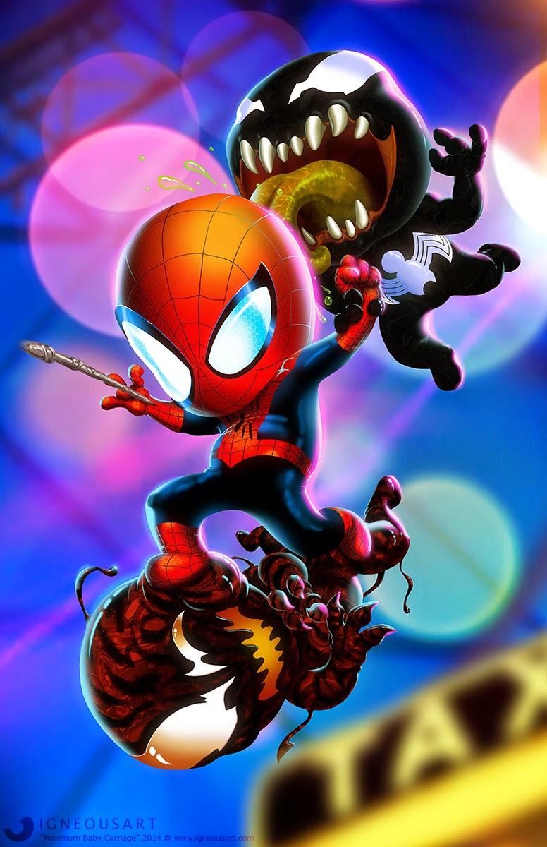 cute marvel characters wallpaper