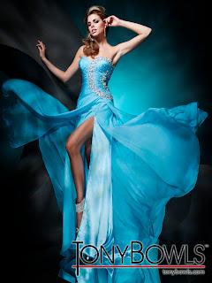 Elegante Kleider - Tony Bowls Kollektion Frühjahr - Sommer 2012