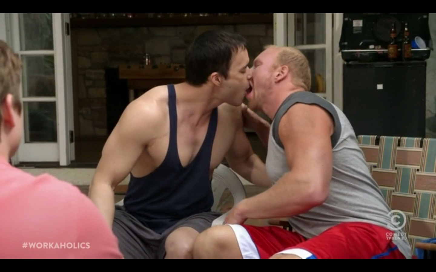Adam devine naked in 039game over man039 2