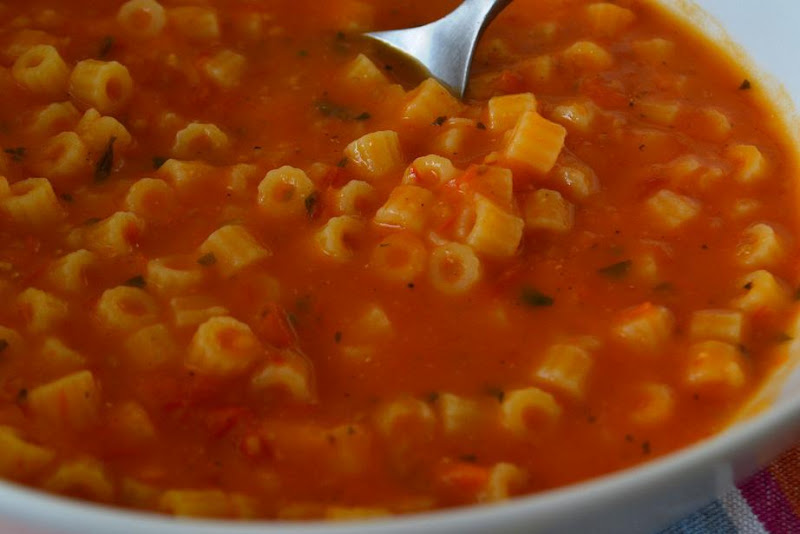 Chicken Macaroni Soup With Tomatoes Recipes — Dishmaps