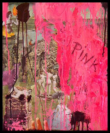 El ataque de lo rosa (Attack Of The Pink), una obra de Miä Mäkilä