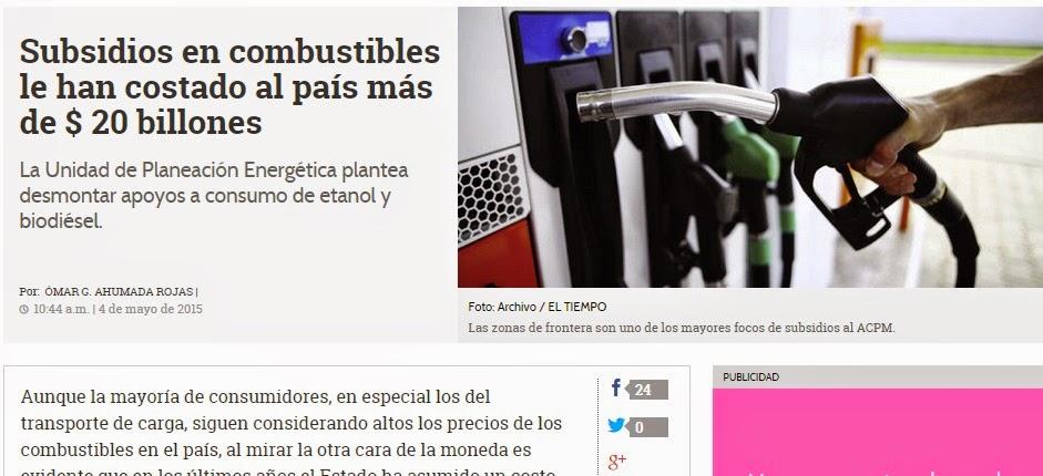 http://www.eltiempo.com/economia/sectores/gabelas-en-combustibles-le-han-costado-al-paas-mas-de-20-billones/15680576