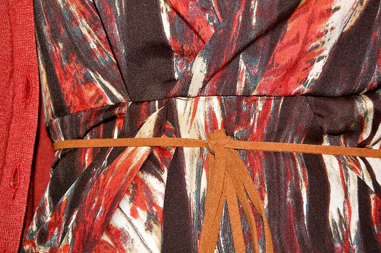 robe colorée h&m