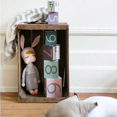 Muñeca Personalizada Little Bunny Gris