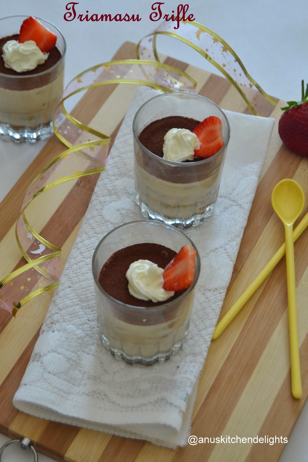 Triamasu Trifle recipe