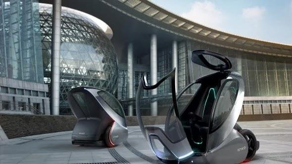 GM EN V Concept Future Car Wallpaper For Android