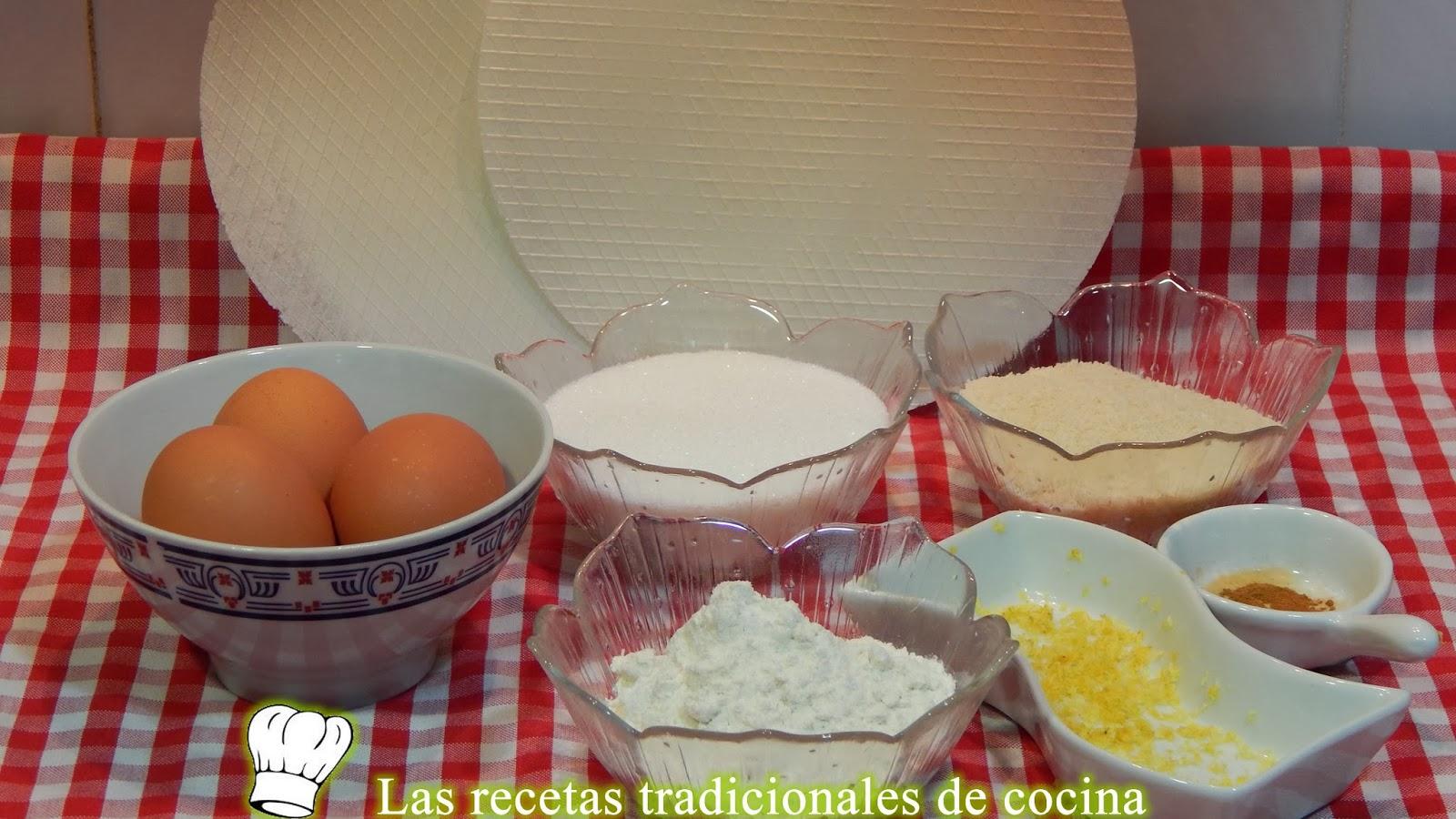 Receta de las tortas cristinas