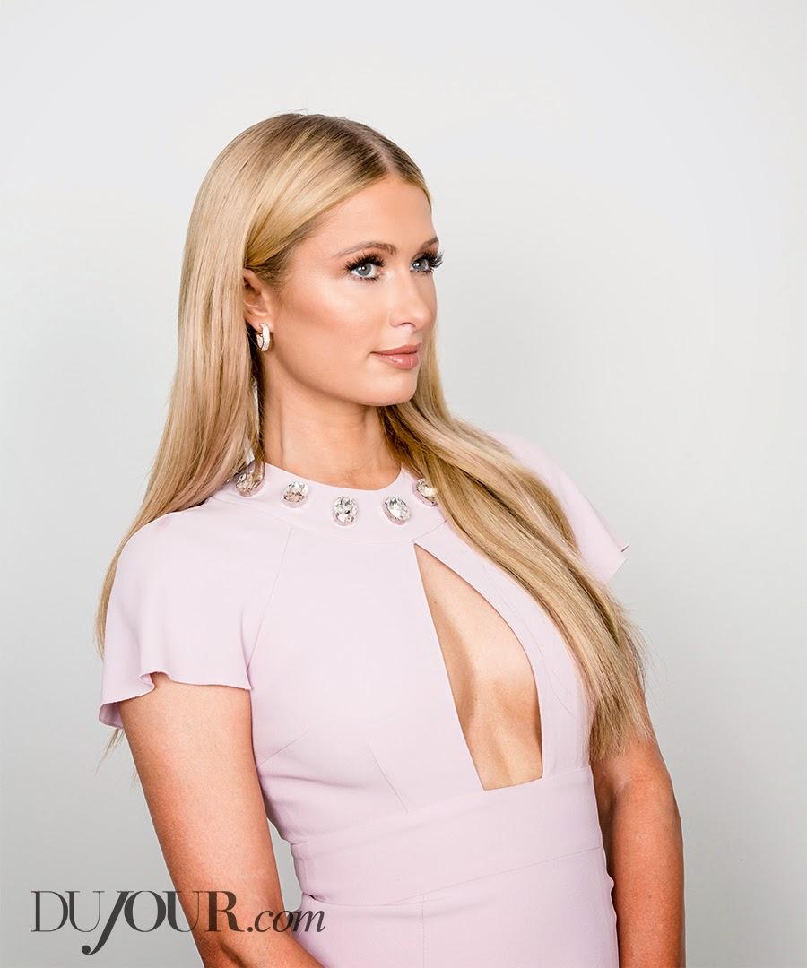 Socialite, Television Personality, Model, Actress, Singer @ Paris Hilton - Dujour, April 2015