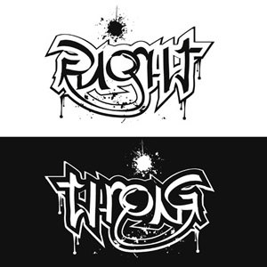 Ideaz how to make an ambigram a few ambigram creator for Tattoos that say something different upside down