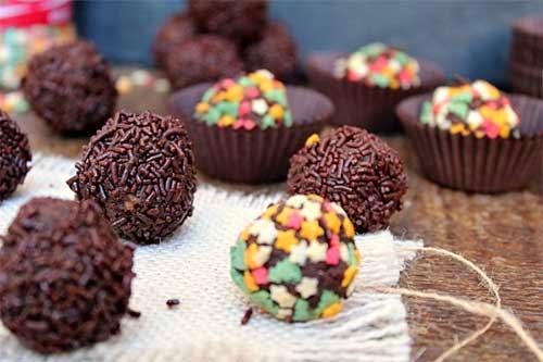 Resep Cara Membuat Chocolate Crunchy Balls