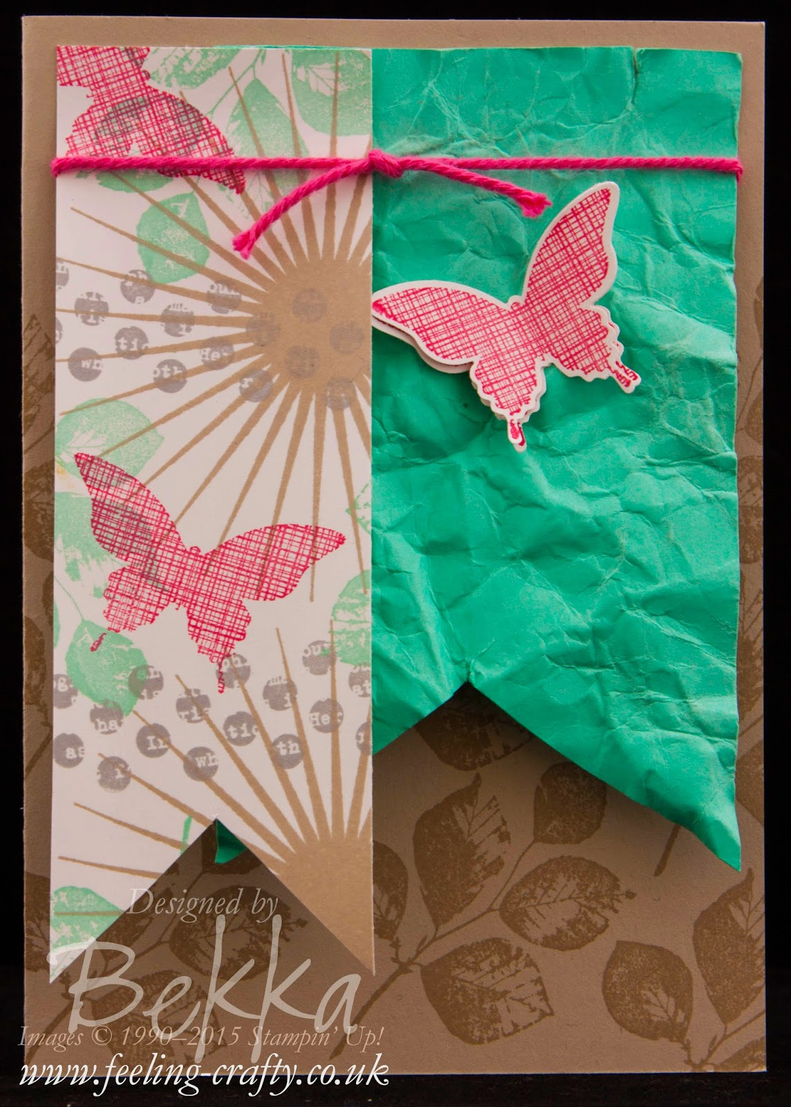 Card for Any Occasion Using The Kinda Eclectic Stamp Set from Stampin' Up! Check It Out Here