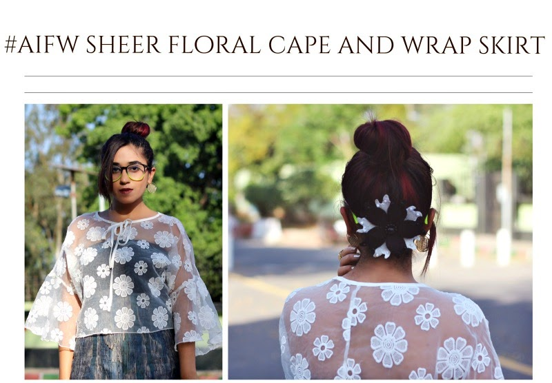 floral cape