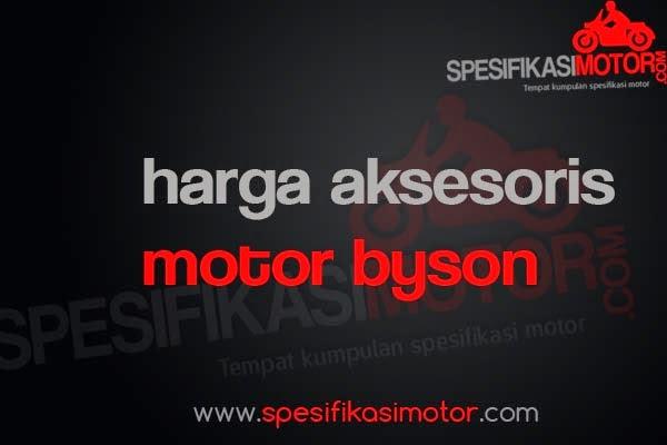 Daftar Harga Aksesoris Motor Yamaha Byson