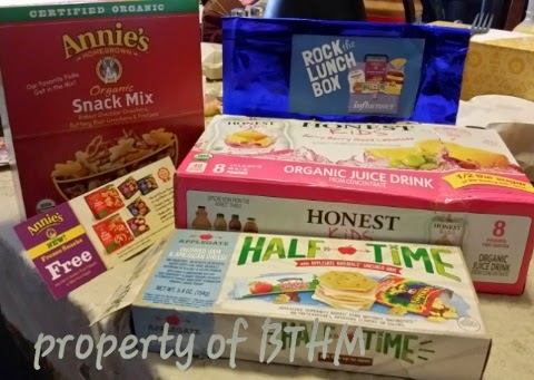 #rockthelunch box influenster vox box products and coupon