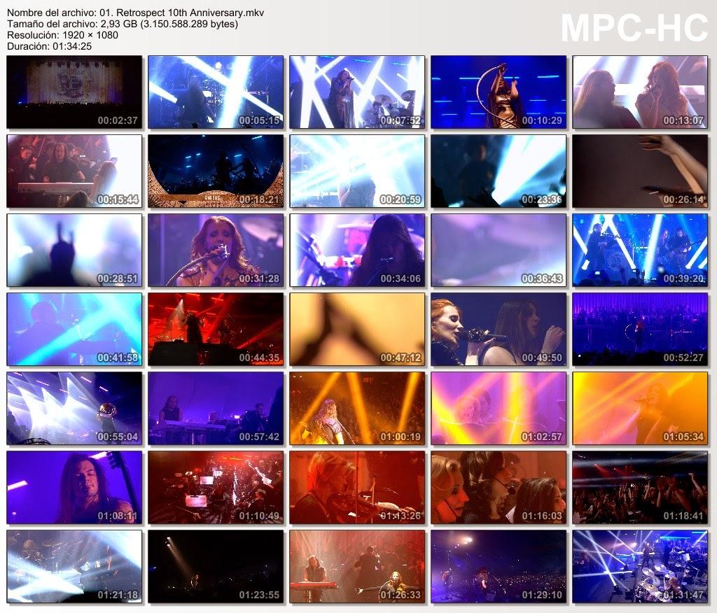 Epica - Retrospect 10th Anniversary (2013) [BD-Rip 1080p.]