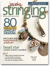 Published in Jewelry Stringing Magazine Winter 2013