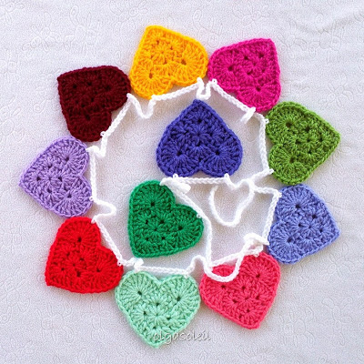 Granny Heart Bunting 1
