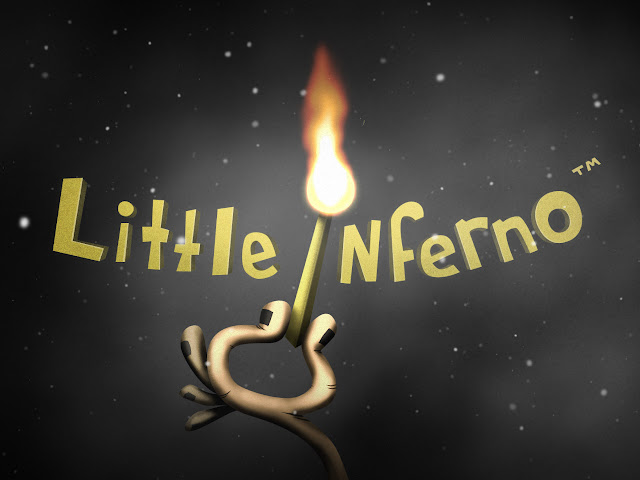 Little Inferno title screen