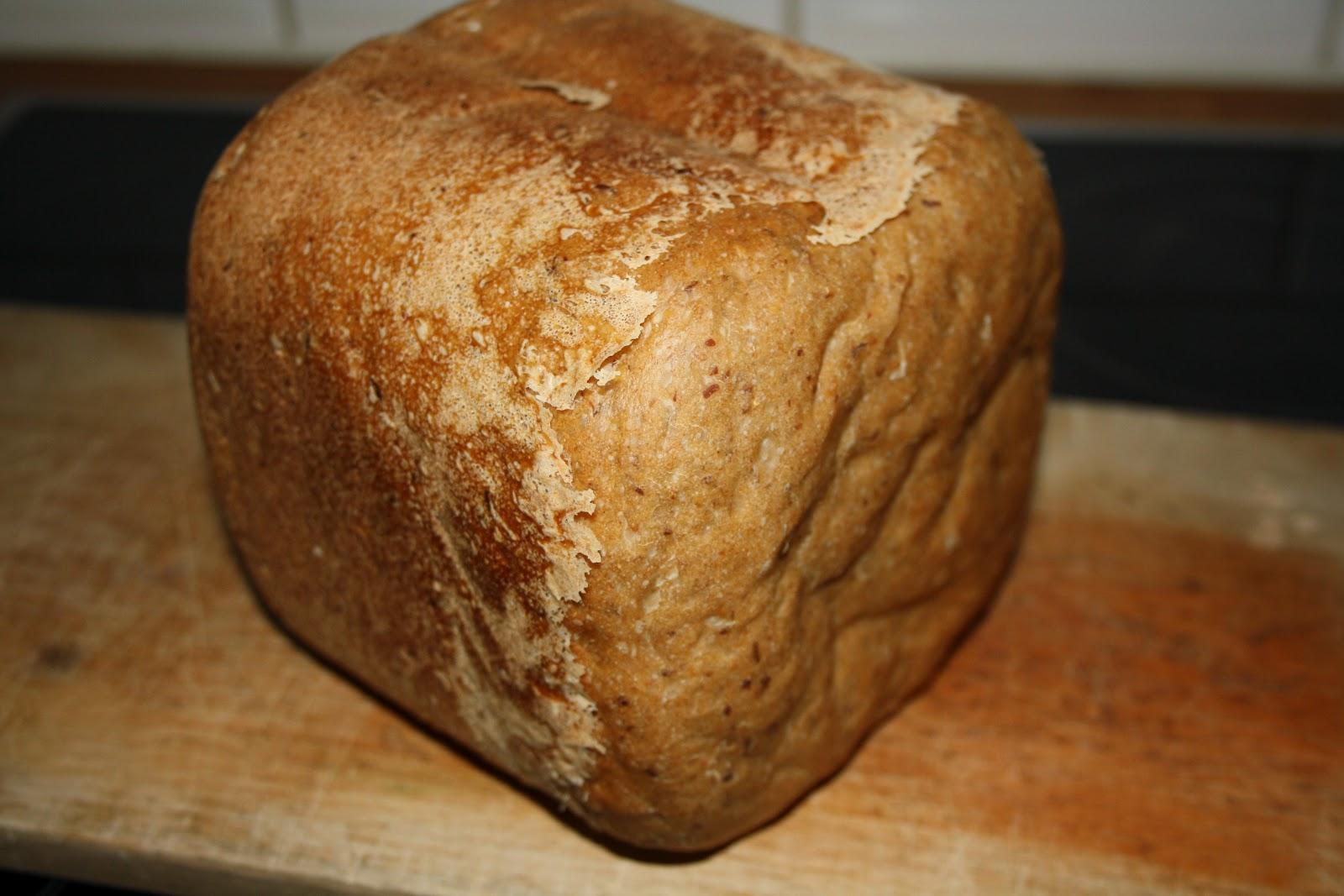 glutenfritt bröd i bakmaskin