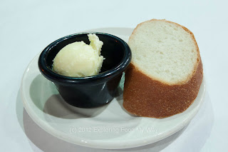 Fresh Bread with Whipped Sweetened Butter