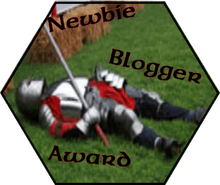 Newbie Blogger Award