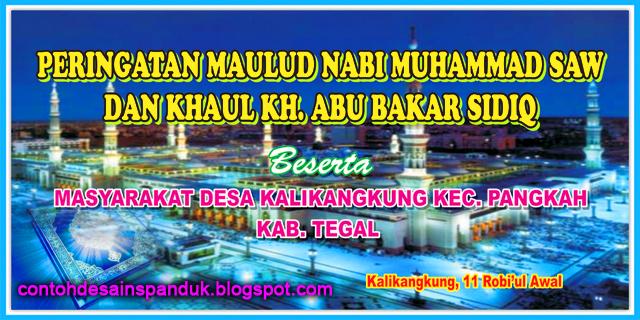 Muhammad SAW Desa Kalikangkung