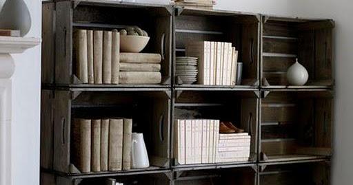 Ideas Para Reciclar Librero Economico