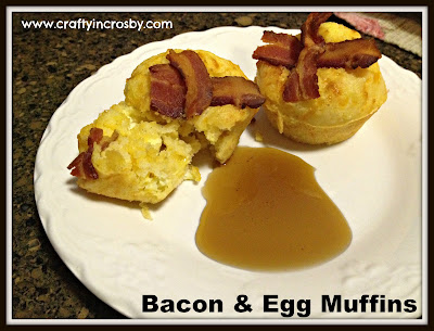 www.craftyincrosby.com, recipes, breakfast, cornmeal breakfast muffins