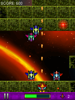 Invaders strike 2 - Java touchscreen game,java touhscreen games