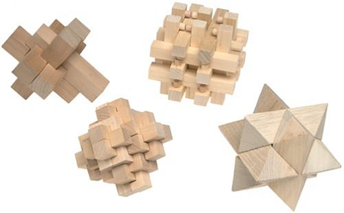 Brain Benders Wooden Puzzles1