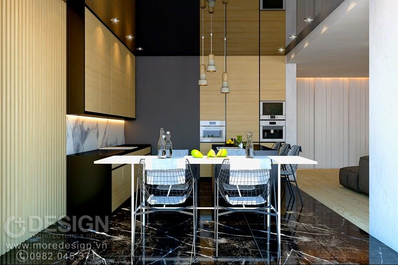 Thiết kế phòng bếp và ăn