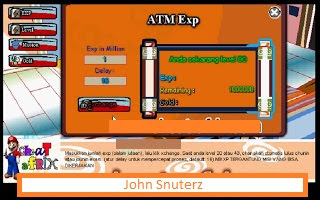 Cheat ATM Exp Ninja Saga Agustus 2013 ( New & Work )