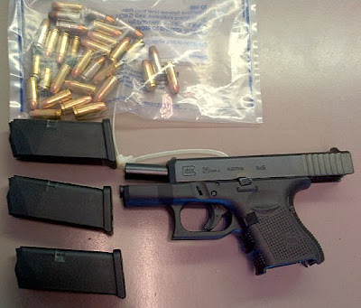 Firearm & Ammo Discovered at (BNA)