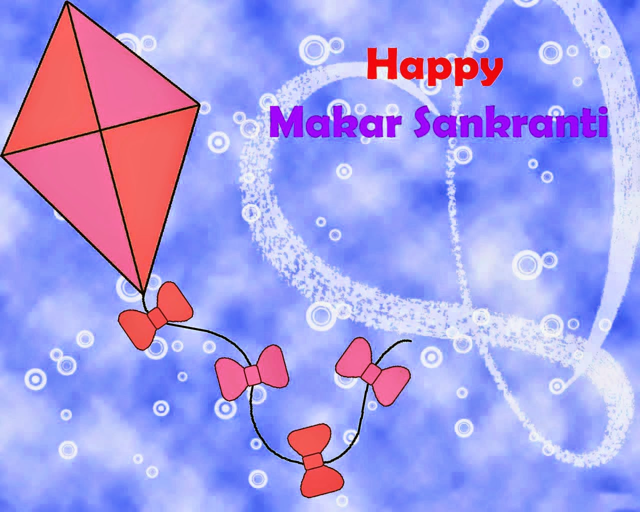 Happy Makar sankarati Kites Nice Hd wallpaper 2015