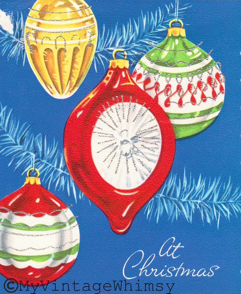 A Very Kitschy Christmas: Vintage Christmas Cards